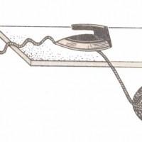 Инструменты и материалы для вязания. Утюг