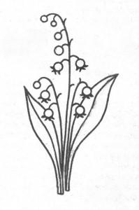 Вязаное платье для девочки спицами, цветы